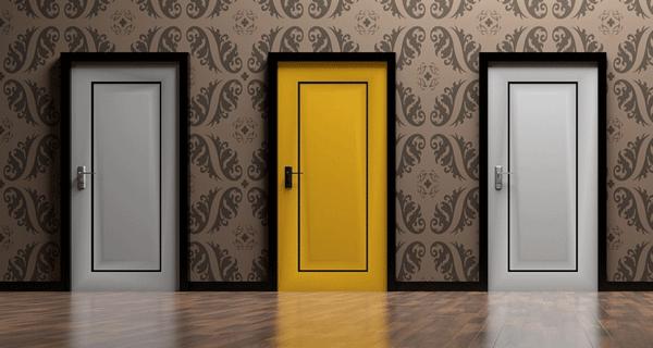 3-doors-selection-notary-bank-broker